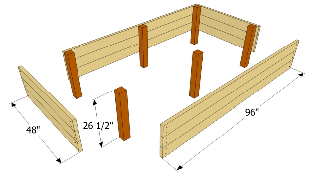 Build Raised Wood Garden Bed Plans DIY PDF woodwork hand tools ...