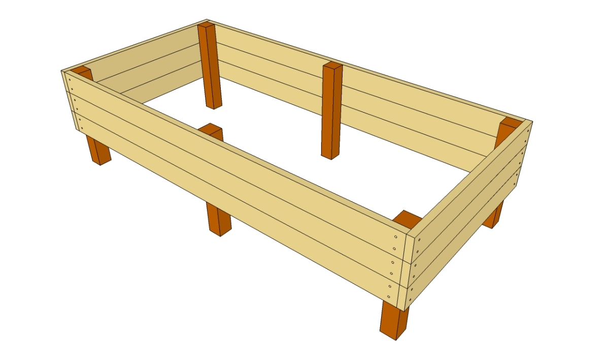 Raised Garden Bed Plans | Raised Garden Bed Plans